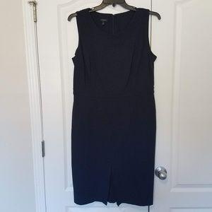 Talbots Navy Career Dress 14